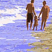 Beachwalk Poster