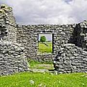 Beam Engine House Remains At Magpie Mine - Sheldon Poster
