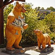 Bears At Taprock Poster