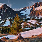 Beartooth Sunrise Light Poster