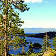Beautiful Tahoe Poster
