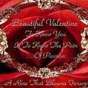 Beautiful Valentine Poster