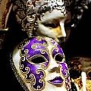 Beautiful Venetian Masks Poster