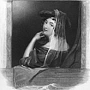 Beauty In Gondola, 1842 Poster