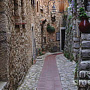 Beauty Of Eze France Poster