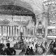 Beaux Arts Ball, 1861 Poster