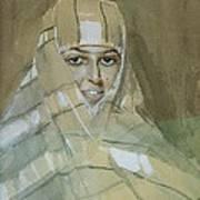 Bedouin Girl Poster