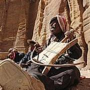 Bedouin Musician Poster by Dave Eitzen