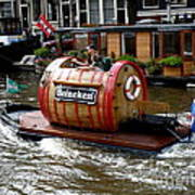 Beer Boat Poster