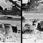 Before And After Hurricane Eloise 1975 Poster by Science Source
