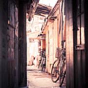Beijing Hu Tong Alleys Poster