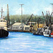 Belford Fishing Seaport Nj Poster