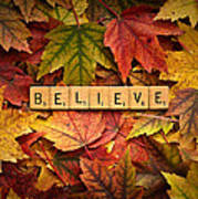 Believe-autumn Poster