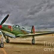 Bell P-63 Kingcobra Poster