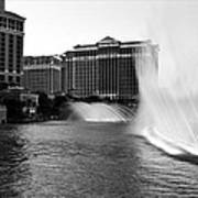 Bellagio Fountains II Poster