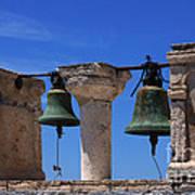 Bells Of Santorini Greece Poster