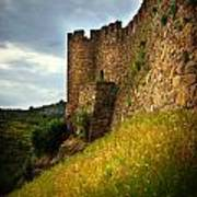 Belver Castle Poster by Carlos Caetano
