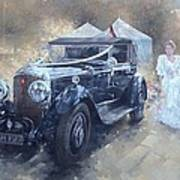 Bentley And Bride  Poster