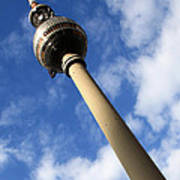 Berlin Television Tower Picture Poster by Falko Follert