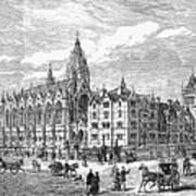 Bethnal Green Market, 1869 Poster by Granger