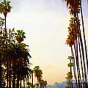 Beverly Hills In La Poster by Susanne Van Hulst