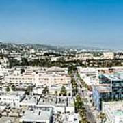 Beveryly Hills Panoramic Poster