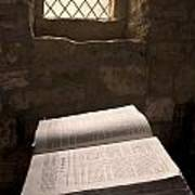 Bible In A Church, Rosedale, North Poster