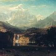 Bierstadt: Rockies Poster