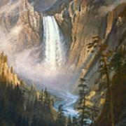 Bierstadt: Yellowstone Poster by Granger