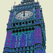 Big Blue Ben Poster by Beth Saffer