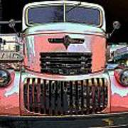 Big Chevy Rig Poster