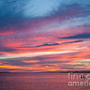 Big Florida Sunset Poster