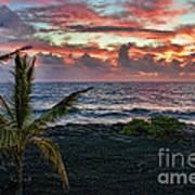 Big Island Sunrise Poster