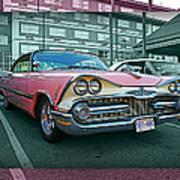 Big Pink Dodge Poster