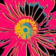 Big Pop Floral Poster