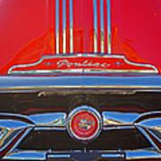 Big Red Pontiac Poster