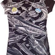 Billfish Ladies Shirt Poster