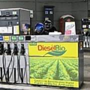 Biodiesel Fuel Pump Poster