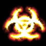 Biohazard Sign Poster