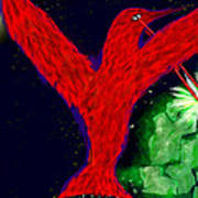 bird of Superman Poster