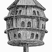 Birdhouse, 19th Century Poster