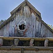 Birdhouse In Cambria Poster