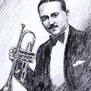 Bix Beiderbecke 1929 Poster by Mel Thompson