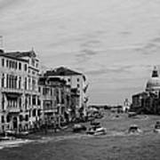 Black And White Venice 3 Poster