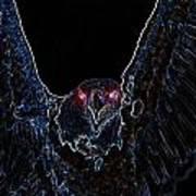 Black Eagle Vision Poster