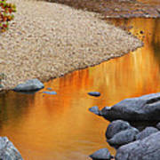 Black River Reflections At Johnsons Shut Ins State Park I Poster
