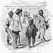 Black School Children Poster