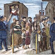 Blackwells Island, 1868 Poster