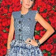 Blake Lively Wearing A Chanel Couture Poster by Everett
