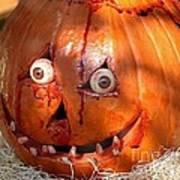 Bloody Pumpkin Poster